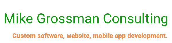 Mike Grossman Consulting Newsletter